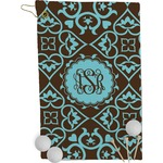 Floral Golf Towel - Full Print (Personalized)