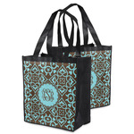 Floral Grocery Bag (Personalized)