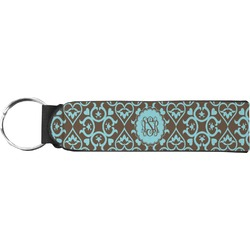 Floral Keychain Fob (Personalized)