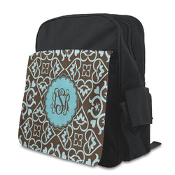 Floral Preschool Backpack (Personalized)