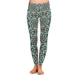 Floral Ladies Leggings (Personalized)