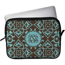 """Floral Laptop Sleeve / Case - 15"""" (Personalized)"""
