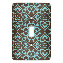 Floral Light Switch Covers - Multiple Toggle Options Available (Personalized)