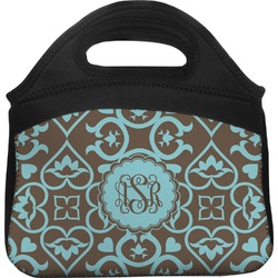 Floral Lunch Tote (Personalized)