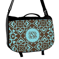 Floral Messenger Bag (Personalized)