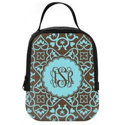 Floral Neoprene Lunch Tote (Personalized)