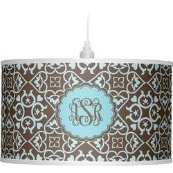 Floral Drum Pendant Lamp (Personalized)