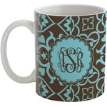 Floral Coffee Mug (Personalized)