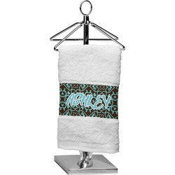 Floral Finger Tip Towel (Personalized)