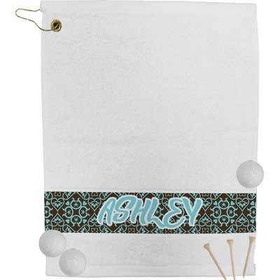 Floral Golf Towel (Personalized)
