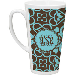 Floral Latte Mug (Personalized)