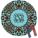 Floral Round Magnet (Personalized)
