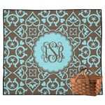 Floral Outdoor Picnic Blanket (Personalized)