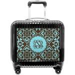 Floral Pilot / Flight Suitcase (Personalized)