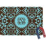 Floral Rectangular Fridge Magnet (Personalized)