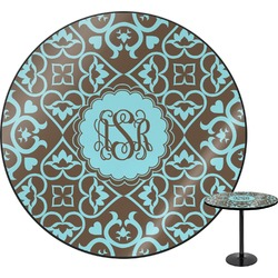 Floral Round Table (Personalized)