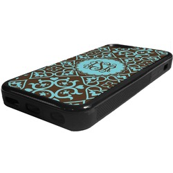 Floral Rubber iPhone 5C Phone Case (Personalized)