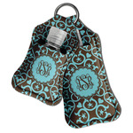 Floral Hand Sanitizer & Keychain Holder (Personalized)