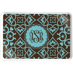 Floral Serving Tray (Personalized)
