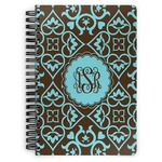 Floral Spiral Bound Notebook (Personalized)