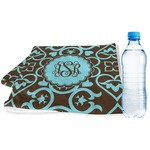 Floral Sports & Fitness Towel (Personalized)