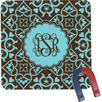 Floral Square Fridge Magnet (Personalized)