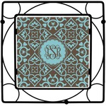 Floral Square Trivet (Personalized)