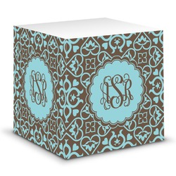 Floral Sticky Note Cube (Personalized)