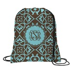 Floral Drawstring Backpack (Personalized)