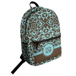 Floral Student Backpack (Personalized)