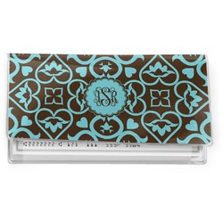 Floral Vinyl Checkbook Cover (Personalized)