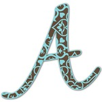 Floral Letter Decal - Custom Sized (Personalized)