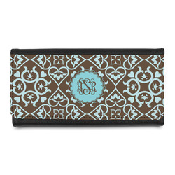Floral Leatherette Ladies Wallet (Personalized)
