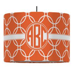Linked Circles Drum Pendant Lamp (Personalized)