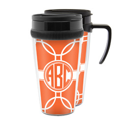Linked Circles Acrylic Travel Mugs (Personalized)