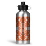 Linked Circles Water Bottle - Aluminum - 20 oz (Personalized)