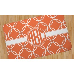 Linked Circles Area Rug (Personalized)