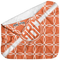 Linked Circles Baby Hooded Towel (Personalized)