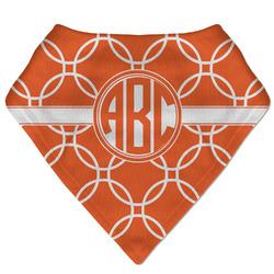 Linked Circles Bandana Bib (Personalized)