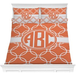 Linked Circles Comforter Set (Personalized)