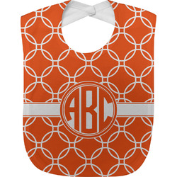 Linked Circles Baby Bib (Personalized)