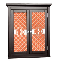 Linked Circles Cabinet Decal - Custom Size (Personalized)