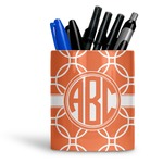 Linked Circles Ceramic Pen Holder