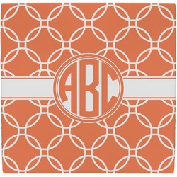 Linked Circles Ceramic Tile Hot Pad (Personalized)