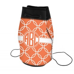 Linked Circles Neoprene Drawstring Backpack (Personalized)