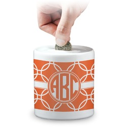 Linked Circles Coin Bank (Personalized)