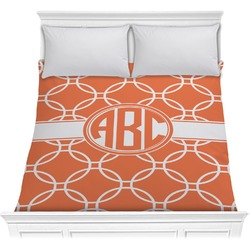 Linked Circles Comforter (Personalized)