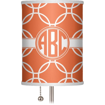 """Linked Circles 7"""" Drum Lamp Shade (Personalized)"""