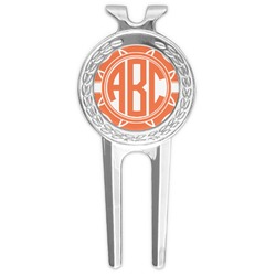 Linked Circles Golf Divot Tool & Ball Marker (Personalized)