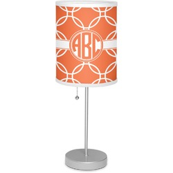 """Linked Circles 7"""" Drum Lamp with Shade (Personalized)"""
